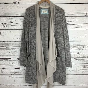 Anthropologie Eagan Open Front Cardigan